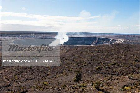 Kilauea Caldera, Hawaii Volcanoes Nationalpark, Big Island, Hawaii
