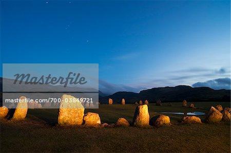 Castlerigg Stone Circle, The Lake District, Cumbria, England