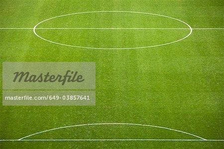 Terrain de soccer doublée