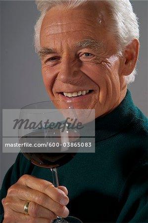 Vin à boire homme