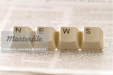 Computer Keys Spelling News