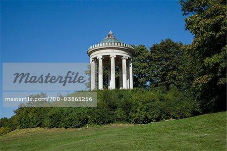 MONOPTEROS, Englischer Garten, Munich, Allemagne