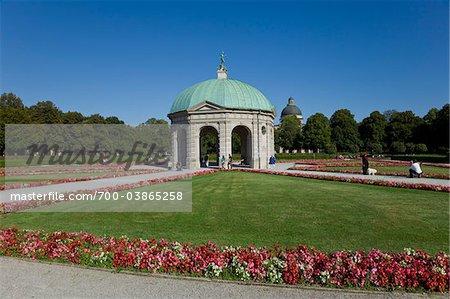 Diana Pavillion, Hofgarten, Munich, Allemagne