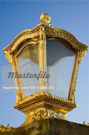 Or la lanterne, le palais de Nymphenburg, Munich, Bavière, Allemagne