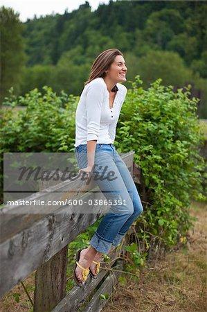 Femme, Oregon, Etats-Unis
