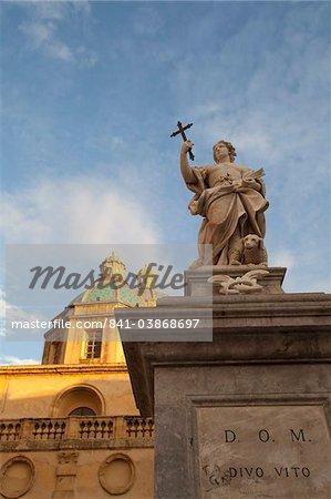 San Vito Piazza della Repubblica, Mazzara del Vallo, Sicile, Italie, Europe