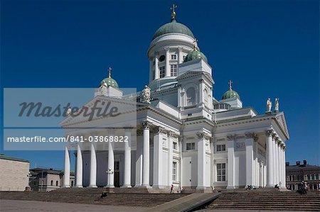 The Lutheran Cathedral, Senate Square, Helsinki, Finland, Scandinavia, Europe