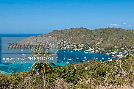 Port de Port Elizabeth, Bequia, Saint Vincent et les Grenadines, îles sous-le-vent, Antilles, Caraïbes, Amérique centrale