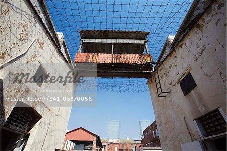 Interior of Constitution Hill, former Apartheid prison, Hillbrow, Johannesburg, Gauteng, South Africa, Africa