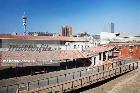 Constitution Hill, former Apartheid prison, Hillbrow, Johannesburg, Gauteng, South Africa, Africa