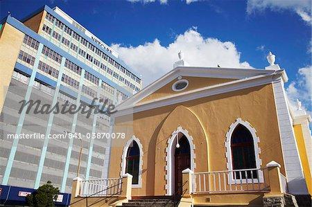Colourful church, Bo-Kaap, Cape Town, Western Cape, South Africa, Africa