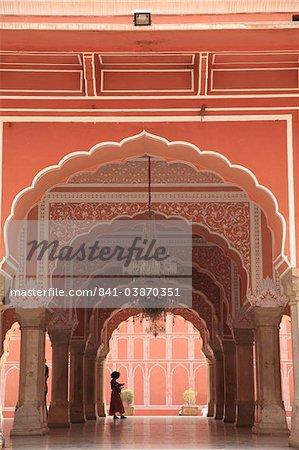 City Palace, Jaipur, Rajasthan, Inde, Asie