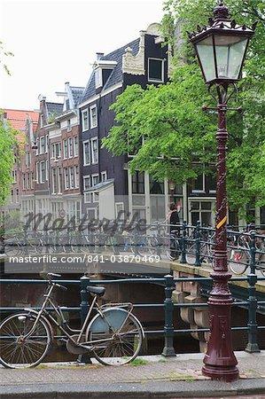 Bicycle, Brouwersgracht, Amsterdam, Netherlands, Europe