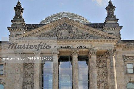Reichstag, Berlin, Allemagne, Europe
