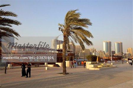 View of Dubai Creek, Dubai, United Arab Emirates, Middle East