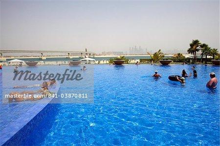 À l'intérieur du complexe Atlantis et resort à Dubaï, Emirats Arabes Unis, Moyen Orient