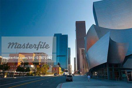 Walt Disney Concert Hall, Downtown, Los Angeles, Californie, États-Unis d'Amérique, l'Amérique du Nord