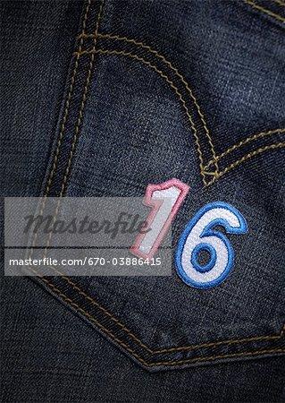 Number appliques