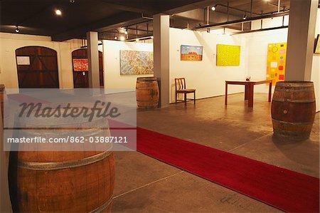 Art gallery in Leeuwin wine estate, Margaret River, Western Australia, Australia
