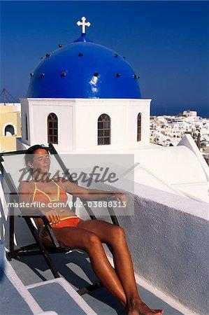 Firostefani, Santorini, Cyclades, Greece
