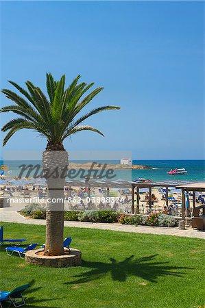 Sirens Hotel at Malia Beach, Crete, Greece