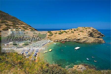 Evita Beach in Bali, Crete, Greece