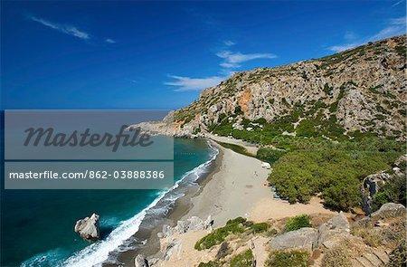 Preveli Beach, South Coast, Crete, Greece