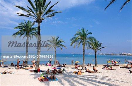 El Arenal, Mallorca, Balearen, Spanien