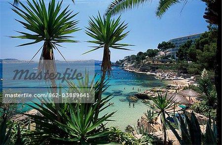 Cala Fornells, Mallorca, Balearen, Spanien