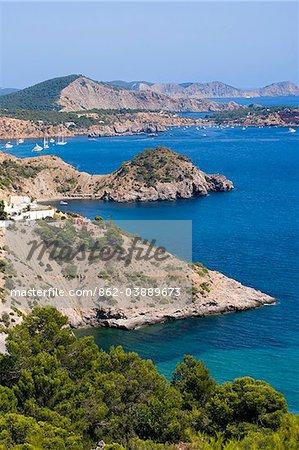 It Cubells, Ibiza, the Balearic Islands, Spain
