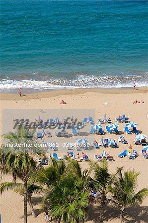 Las Canteras beach, Las Palmas, Gran Canaria, Canary Islands, Spain