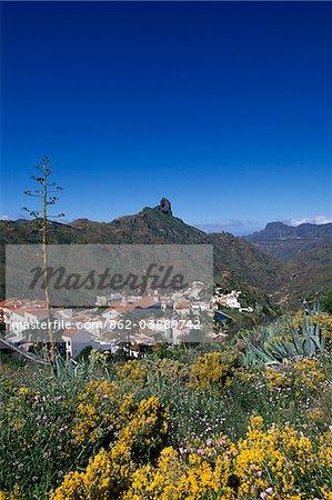 Tejeda, Roque Bentaiga, Gran Canaria, Canary Islands, Spain