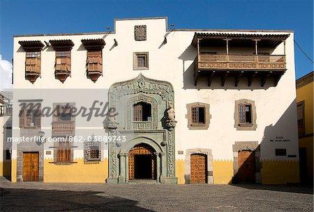 Casa de Colon, Las Palmas, Gran Canaria, Iles Canaries, Espagne