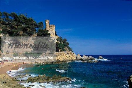 Lloret de Mar, Costa Brava, Katalonien, Spanien