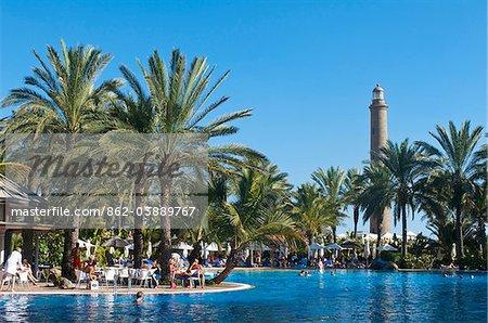 Hotel Costa Meloneras, Maspalomas, Gran Canaria, Iles Canaries, Espagne