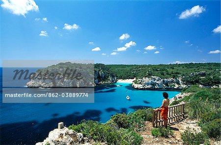 Cala Macarellata, Menorca, Balearic Islands, Spain