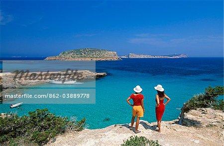 Cala Comte, Ibiza, Balearen, Spanien