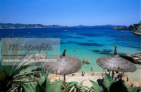 Cala Fornells, Majorca, Balearic Islands, Spain