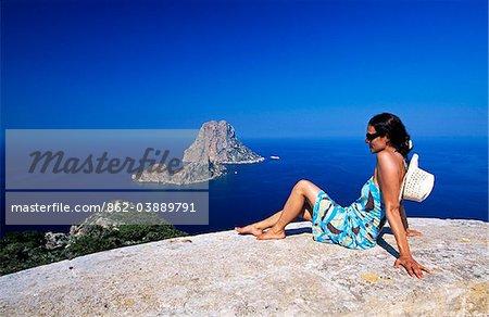 Es Vedrà, Ibiza, Balearen, Spanien