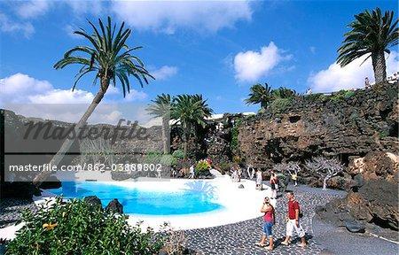 Jameos del Agua, Lanzarote, Canary Islands, Spain