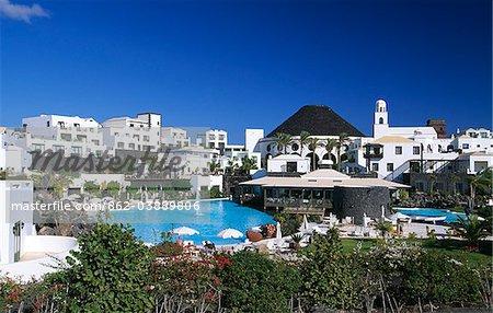 Grand Hôtel Melia Vulcan à Playa Blanca, Lanzarote, îles Canaries, Espagne