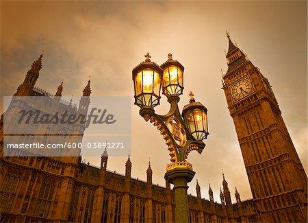 Big Ben, Westminster Palace, Westminster, London, England, United Kingdom