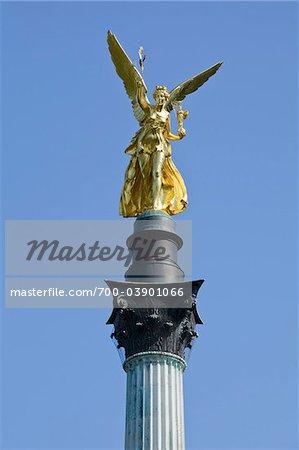 Angel of Peace Monument, Maximilian Park, Munich, Germany