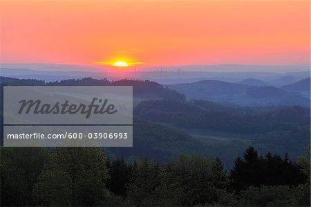 Usseln, Willingen, Waldeck-Frankenberg, Hesse, Allemagne