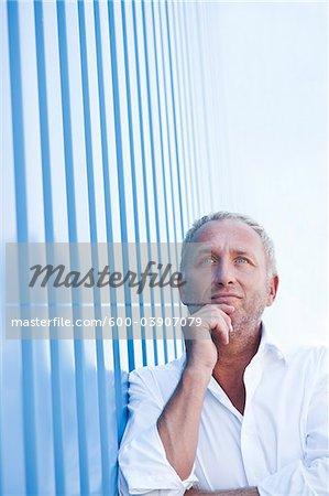 Portrait of Man, Mannheim, Baden-Wurttemberg, Germany