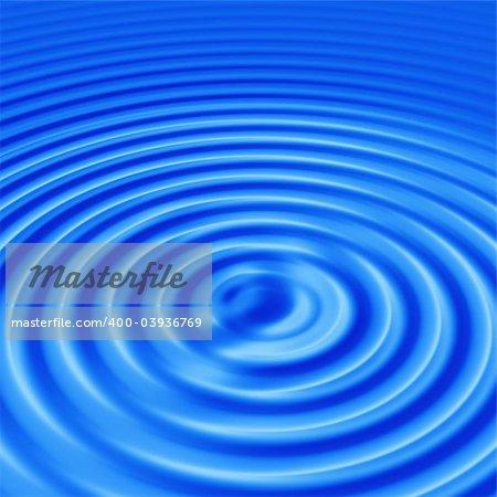 blue water ripple