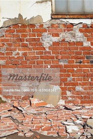 Bröckelnde Mauer