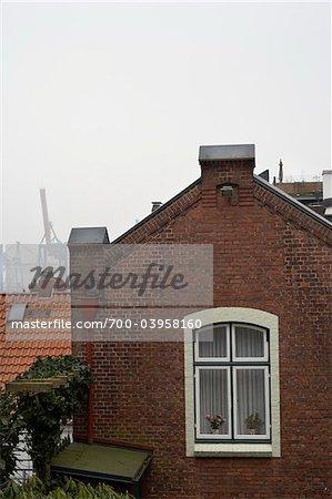 Près de Shipyard, Hambourg, Allemagne