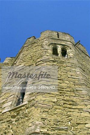 stokesay castle shropshire the midlands england uk gb eu
