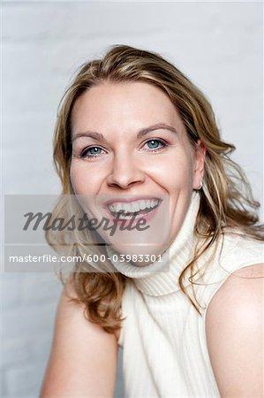 Close-up Portrait de femme